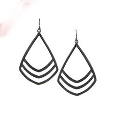 Shiny Colorful Big Pendant Brincos Statement Hook Earrings
