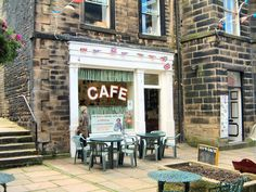 Holmfirth, England  Cafe used in Last of the Summer Wine