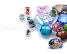 Margele Handmade Sticla cu Foita - Margelbeads