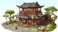 Minecraft Architecture, Thai Style, Art School, Gazebo, Metro 2033, Outdoor Structures, Cabin, House Styles, City