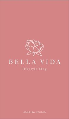 Floral logo design. Peony logo. Full branding package available for purchase. Premade branding package. Beautiful branding identity for small businesses, bloggers, or florist.