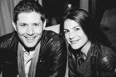 Jensen with Gen Padalecki