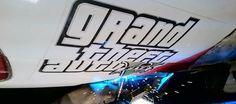 Grand Theft Auto V welding on the race car