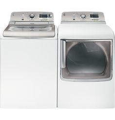 GE Top Load Washers & Dryers Features | GE Appliances. Awesome. HATE front loading washers.