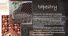 Tapestry - weaved on a XIX-centry loom