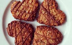 Mandlo-rozinková srdíčka bez mouky a másla – pecivorecept French Toast, Breakfast, Food, Morning Coffee, Essen, Meals, Yemek, Eten