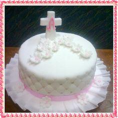 torta masa semi novia de primera comunion