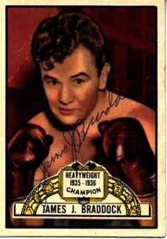Boxing - James J. Braddock - The Cinderella Man