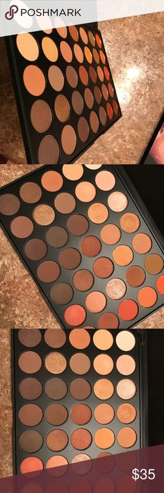 Original Morphe 35O palette! I'M AWARE THIS IS ON MORPHE FOR LESS BUT POSH SHIPPING IS CHEAPER AND FASTER SO IT WORKS, OK? :)  Hey guys! I'm selling my barely touched Morphe 35O palette. I bought this back when it was first being released and to be honest, rarely use it. It's got both the mattes and shimmers in it. This is 100% authentic. Packaging is very clean! Any questions, just ask! Morphe Makeup Eyeshadow