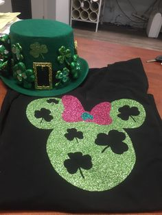 Mickey Mouse Disneyland St Patrick's Day