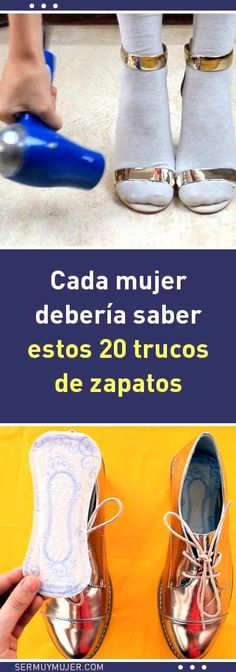 20 trucos de zapatos que toda mujer debería saber DICAS E DICAS Sr1, Simple Life Hacks, Tips Belleza, Good To Know, Diy Clothes, Just In Case, Boat Shoes, Helpful Hints, Beauty Hacks