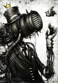 Digital art by Japan-based artist Shichigoro Shingo