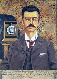 Retrato de Don Guillermo Kahlo - (Frida Kahlo)
