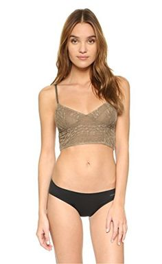 7f21229b74 Free People Womens Stretch Lace Crop Bra Medium Sienna     To view further  for this item