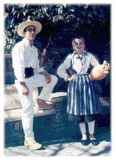 Portugal folkloric costume