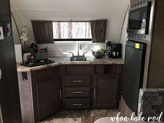 Painting the interior walls of your camper, painting camper walls Camper Interior, Interior Walls, Kitchen Paint, Kitchen Cabinets, Build A Camper Van, R Pod, Camper Life