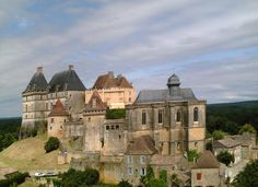 Château de Biron. Perigord. Aquitaine