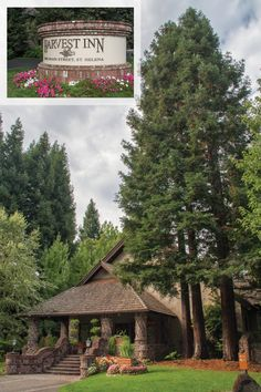 Harvest Inn has 8 acres of beautiful gardens! Brandon Augustine is the Landscaping Director. St Helena CA (Napa Velley)