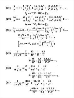 Ramanujan's series for pi