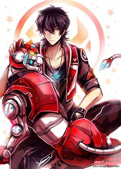 Keith of the Red Lion from Voltron Legendary Defender