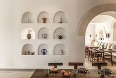 French interior designer Dorothee Meilichzon conceived the Menorca Experimental Hotel in the vein of an artist's summer hideaway, designed to inspire. Menorca, Wood Plank Flooring, Interior Architecture, Interior Design, Outdoor Restaurant, French Interior, Design Hotel, House, Inspiration