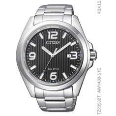984953321a9 Relógio Citizen Ecodrive Masculino Ref  Tz20582t Solar Relógios Masculinos