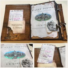 Harry Potter Inspired Scrapbook HARD cover Album