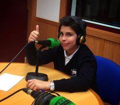 Entrevista para Onda cero Talavera después de su regreso de Túnez.