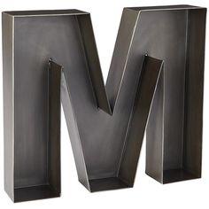 Large Hollow Metal Letters Amusing Monogrammetal12Lettermmetalwreathbyridgevalleymetal$ Decorating Inspiration