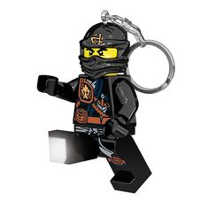 This LEGO Ninjago Key Light provides just the assistance you need when you are trying to unlock a door in the dark. This Lego Ninjago Key Light is small and light enough to ride inconspicuously on you