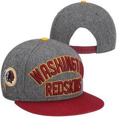 0e7a4995466 New Era Washington Redskins Emphasized 9FIFTY Snapback Hat -  Charcoal Burgundy Redskins Hat