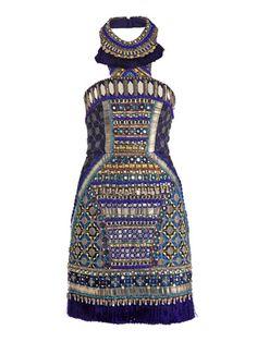 Matthew Williamson Bhangra Beaded Dress