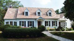 Cape Cod Style Home Exterior... #CapeCod