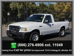 2011 Ford Ranger XL Pickup  Rigid Axle Rear Suspension, Tires: Profile: 70, Overall Height: 66.2, Center Console: Partial With Storage, Leaf Rear Suspension, Wheel Diameter: