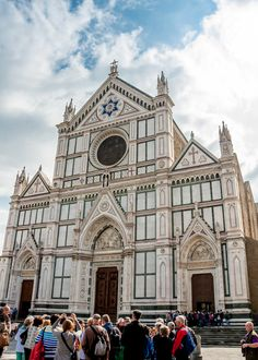 Santa Croce - Temple of the Italian Glories Check more at http://florenceitaly-attractions.com/santa-croce-temple-italian-glories/
