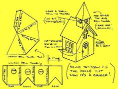 Putz House - Church Plan