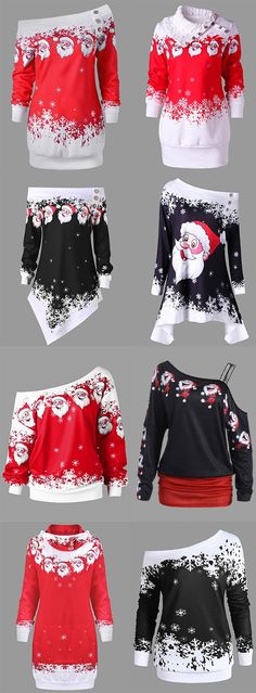 50% OFF Christmas tops for women,Free Shipping Worldwide.