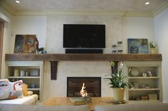 plaster fireplace designs | distressed lime plaster with marsi soap to add depth and beauty in ...