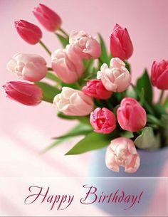 Bilderesultat for happy birthday flowers Happy Birthday Flower, Birthday Pins, Happy Birthday Pictures, Birthday Quotes, Birthday Blessings, Birthday Wishes Cards, Happy Birthday Messages, Happy Birthday Greetings, Happy B Day