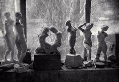 Dans l'atelier d' Aristide Maillol, Paris, 1936 • Brassaï