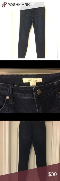 """Joie jeans Mid Rise Skinny Joie Jeans Mid-Rise Skinny size 30. Color: Everest. 70% cotton/14% polyester/2% elastane. 28.5"""" inseam. 9"""" Rise. 15"""" waist. I️ bought these on Posh, and they are super cute but a little too big for me. Joie Jeans Skinny"""