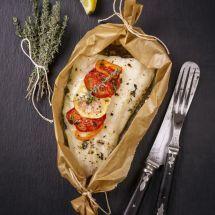 Ma recette du jour : Papillote de poisson sur Recettes.net