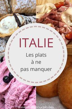 Impossible de passer à côté de la gastronomie italienne lors d'un voyage en Italie. De Rome à Naples à la Sicile, les bons plats se suivent. Voici les plats que vous devez absolument goûter lors d'un voyage en Italie. #italie