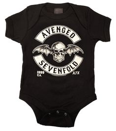 Avenged Sevenfold Baby Onesie
