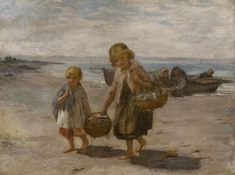William McTaggart – Scottish), Fish From The Boat Dundee City, Glasgow Museum, When I Dream, Boat Art, Art Uk, Impressionism, Oil On Canvas, Art Gallery, Old Things