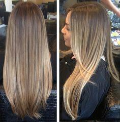 Brunette Balayage & Hair Highlights : e esse super natural? Brown Blonde Hair, Light Brown Hair, Balayage Hair, Bayalage, Subtle Balayage, Subtle Highlights, Brown Balayage, Blonde Sombre, Subtle Ombre