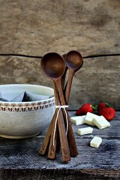 Minimalist Long Handled Measuring Spoons from Old World Kitchen