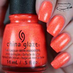 China Glaze Papa Don't Peach