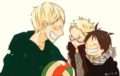 OMG <3 look at these adorable baby birds <3 Haikyuu