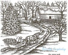 Northwoods winter stamp - Google Search